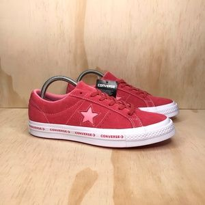 NEW Converse One Star OX Paradise Pink Suede